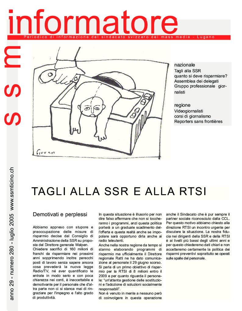 thumbnail of Informatore SSM 280