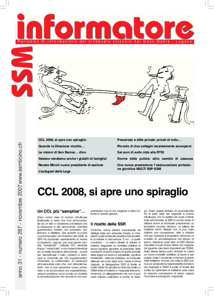 thumbnail of Informatore SSM 287