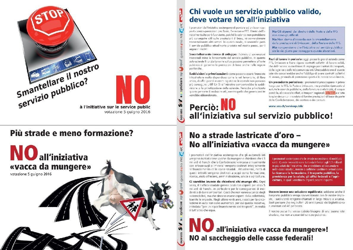 thumbnail of Flyer Service Public und Milchkuh italiano SSM