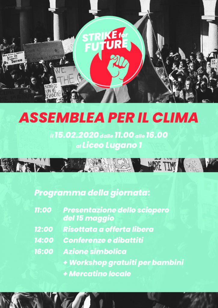 thumbnail of Volantino Assemblea per il clima