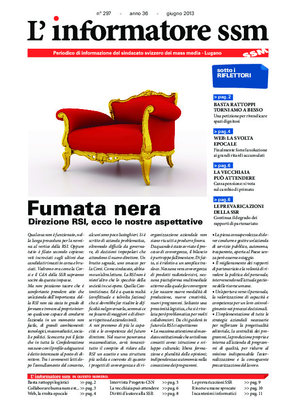 thumbnail of Informatore SSM 297