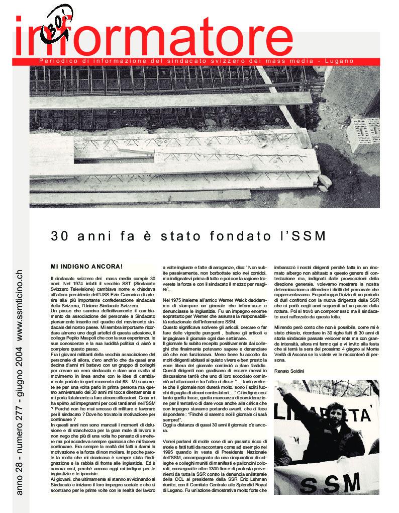 thumbnail of Informatore SSM 277