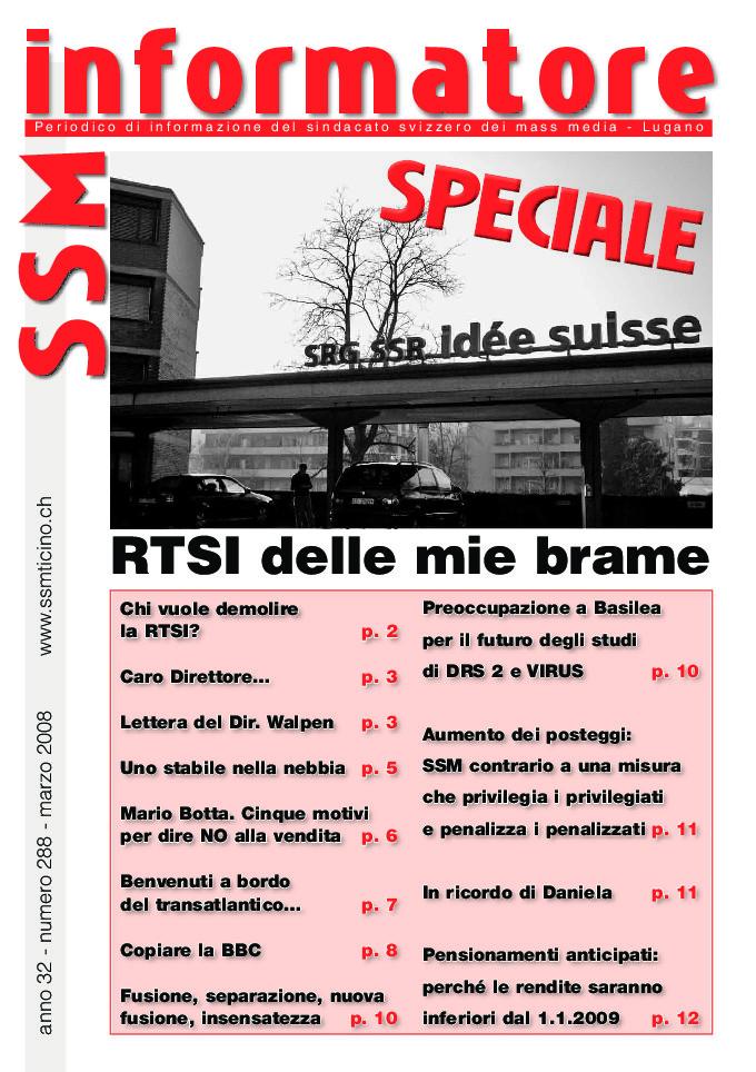 thumbnail of Informatore SSM 288